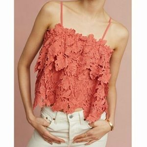 Anthropologie Guest Editor Cory Lace Crochet Top